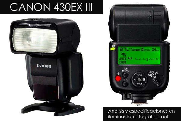 Reseña y opiniones del Flash 430EX III de Canon