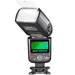 Flashes Neewer en oferta para cámaras fotográficas Nikon