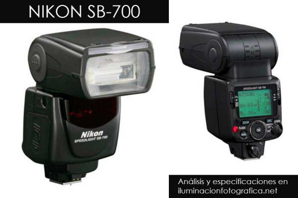 reseña y opiniones del flash Nikon SB700