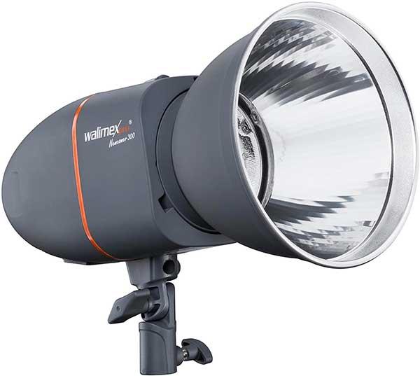Flas de estudio para equipo de iluminacion fotografica