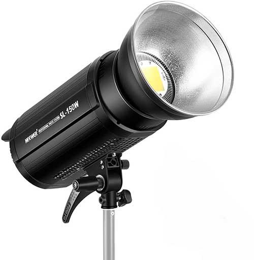 equipo de ilumimación fotografica con luz continua